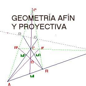 Geometría afín y productiva